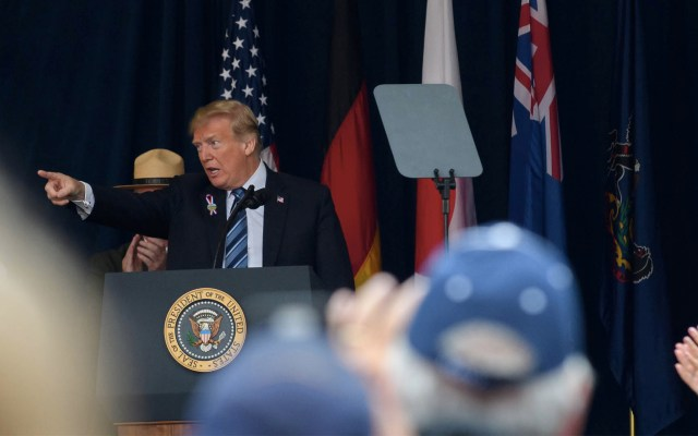 Haré todo lo posible para impedir que terroristas ataquen EE.UU.: Trump - Jeff Swensen/GETTY IMAGES NORTH AMERICA/AFP