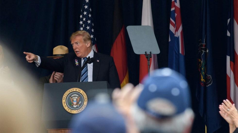 Haré todo lo posible para impedir que terroristas ataquen EE.UU.: Trump - Jeff Swensen/GETTY IMAGES NORTH AMERICA/AFP