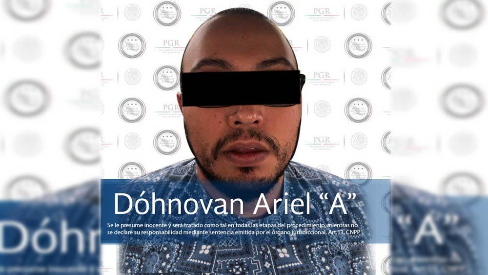 Detienen a 'Vito AG', presunto líder de 'Los Mazos' - Foto de AIC