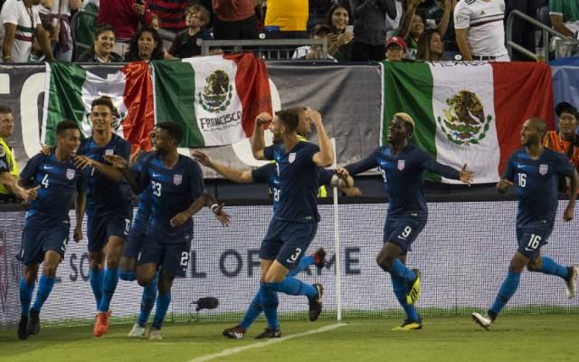 Estados Unidos se llevó el triunfo ante México - Foto de Mexsport