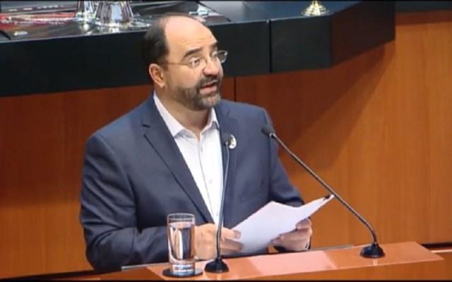 Álvarez Icaza pide invalidar Ley de Seguridad Interior en Senado - Foto Captura de Pantalla