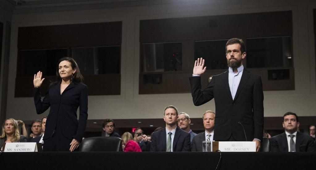 Facebook y Twitter regresan al Senado de EE.UU. por injerencia rusa - Foto de Internet