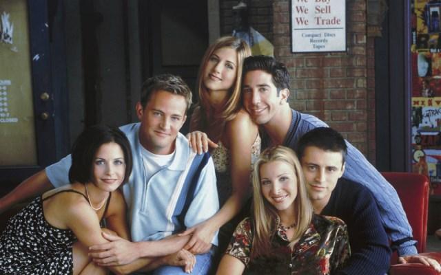 El primer vistazo del regreso de 'Friends' - Protagonistas de Friends. Foto de Internet