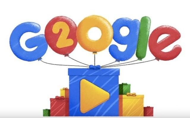 Google cumple 20 años