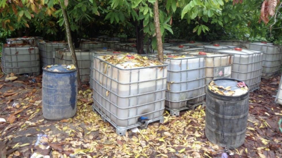 Aseguran casi 153 mil litros de combustible robado en el país - Foto de @PGR_mx