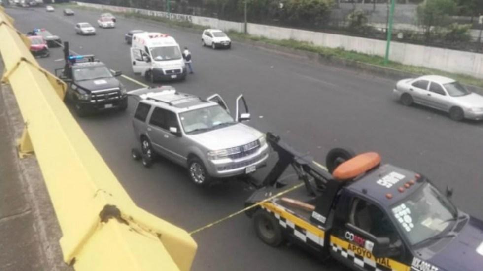 Pelea por incidente vial termina en homicidio en la Ciudad de México - Foto de Quadratín