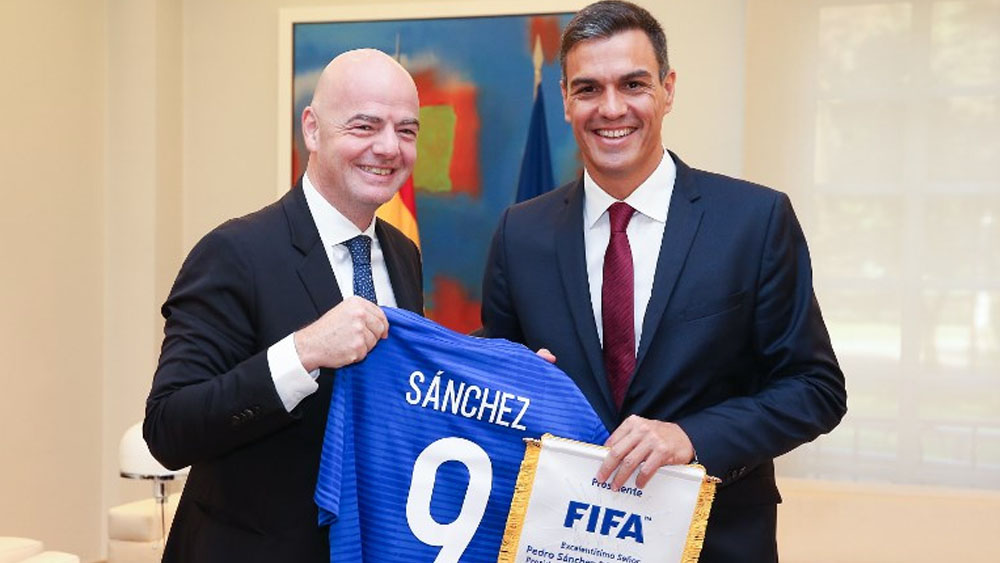 España podría ser sede del Mundial 2030 - Foto de Fernando CALVO / LA MONCLOA / AFP