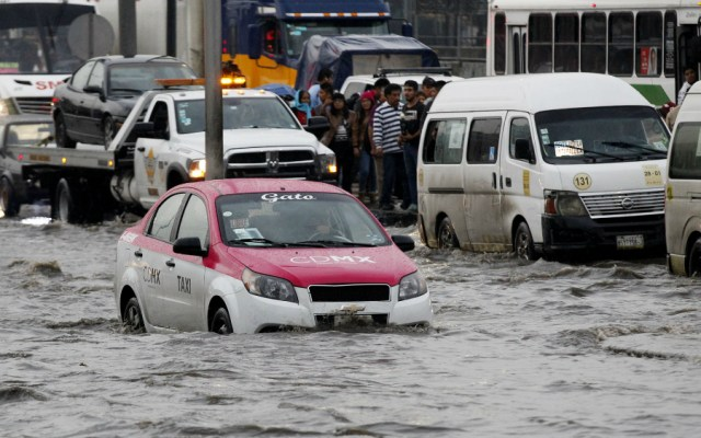 Identificados 44 puntos críticos de inundación en la Ciudad de México - Foto de Notimex