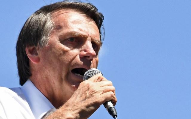 Bolsonaro intentará retomar campaña el 12 de octubre - Foto de Evaristo Sa/AFP