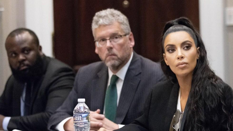 Kim Kardashian visita nuevamente la Casa Blanca - Foto de Twitter Kim Kardashian