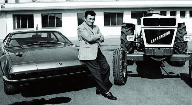 Lamborghini comenzó fabricando tractores - carscoops.com