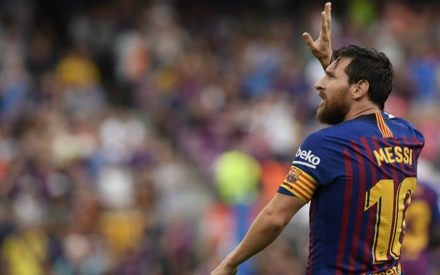 "Messi admite que le ""sorprendió"" que Cristiano dejara el Real Madrid - Foto de AFP"