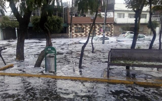 Alerta Naranja por lluvia en dos delegaciones de la capital - Foto de @sergiolo