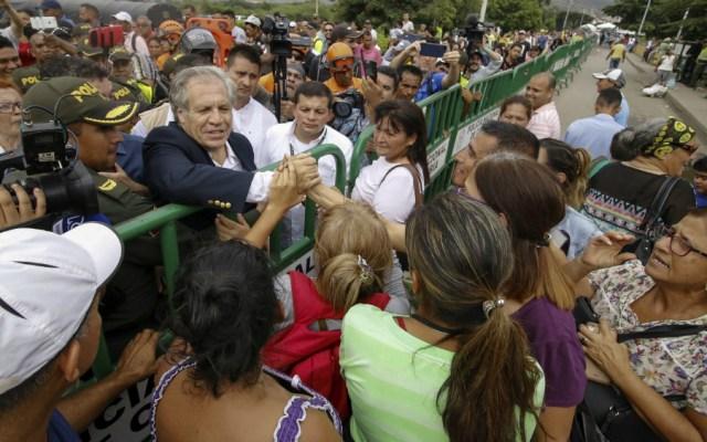 """No se debe descartar """"intervención militar"""" en Venezuela: OEA - Foto de AFP"""