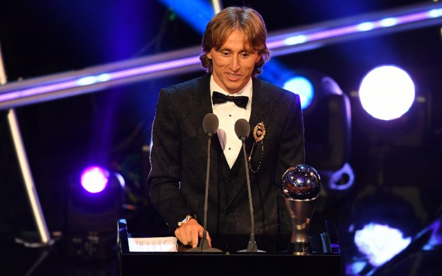 Luka Modric gana el The Best al mejor jugador del año - Foto de AFP