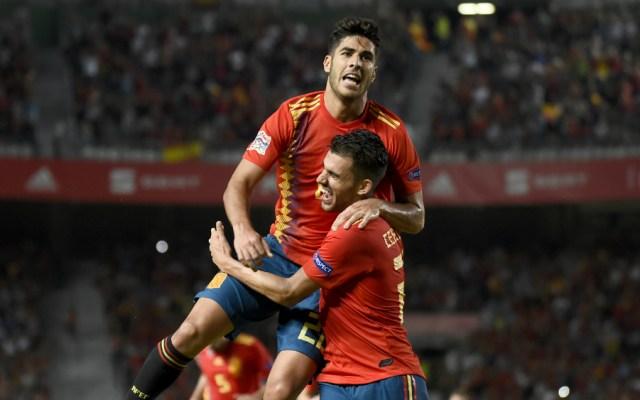 España se da un festín de goles ante Croacia - Foto de AFP