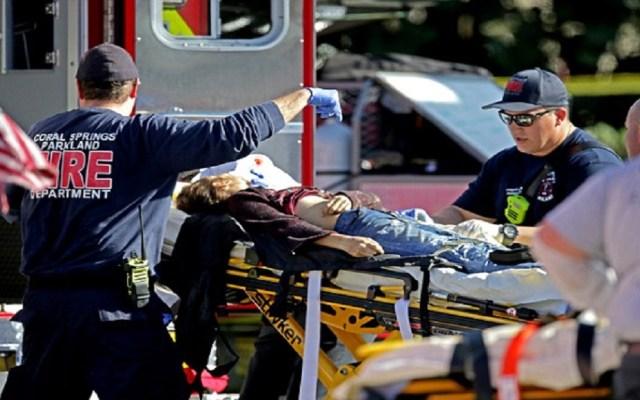 Denuncian mediocre respuesta de policía durante masacre de Parkland - Foto de Getty Images
