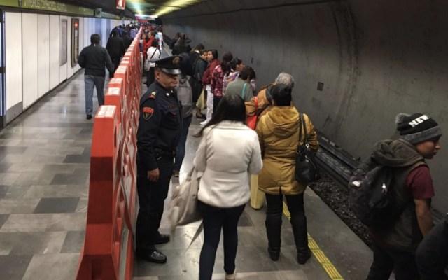 Metro de la Ciudad de México impedirá ingreso y venta de pirotecnia - Foto de @MetroCDMX