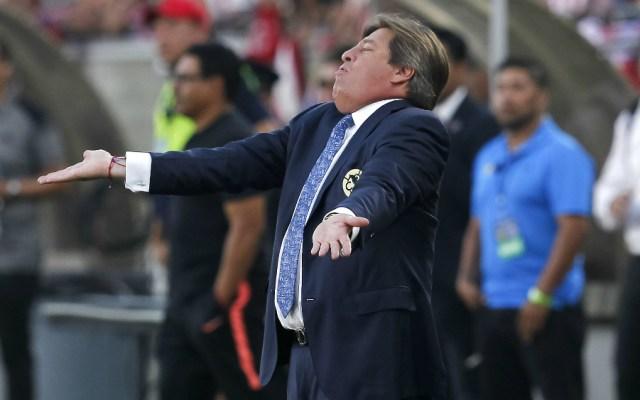 "Miguel Herrera le manda ""mensaje"" a Cruz Azul - Miguel Herrera, técnico del América. Foto de Mexsport"