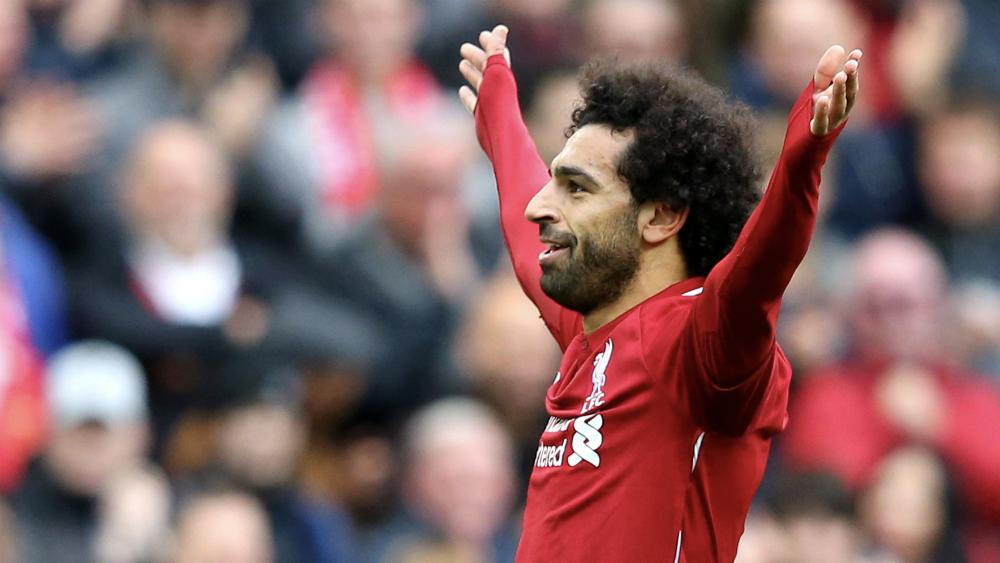 Mohamed Salah firma victoria de Liverpool y lideran Premier League - Foto de @LFC