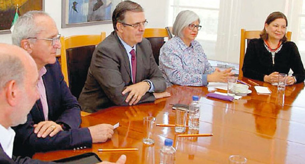 Senadores de Morena se reunirán con Seade y Ebrard por TLCAN - Foto de Internet