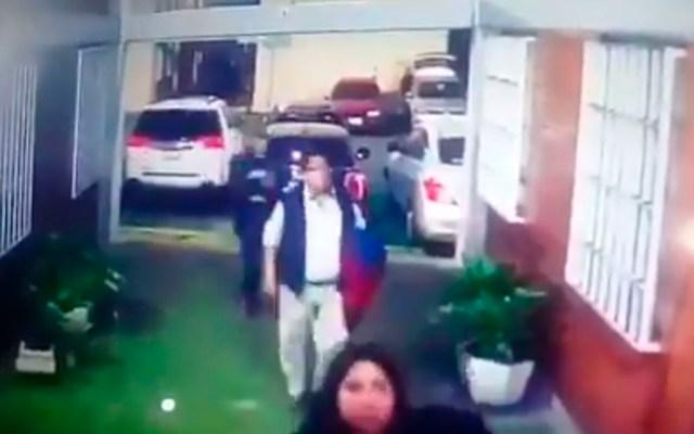 #Video Asesinan a agente del MP en Gustavo A. Madero