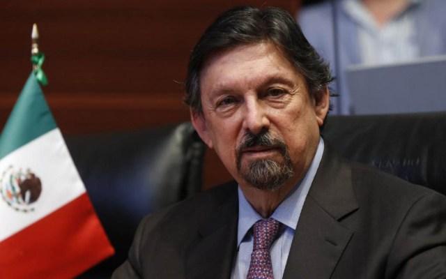 Gómez Urrutia propone ante el Senado desaparecer Conasami - Napoleón Gómez Urrutia. Foto de @NapoleonGomezUr