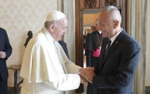 El papa dialoga sobre libertad religiosa con el presidente de Albania - Foto de Internet