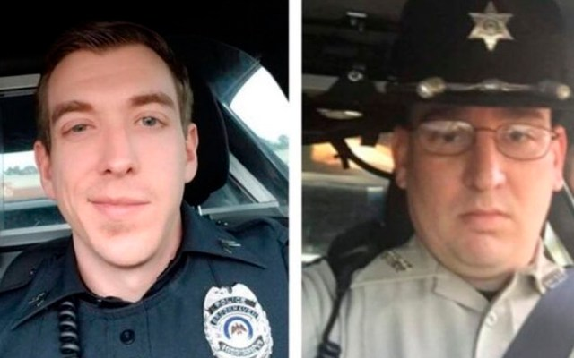 Enfrentamiento deja dos policías muertos en EE.UU. - Foto de Twitter