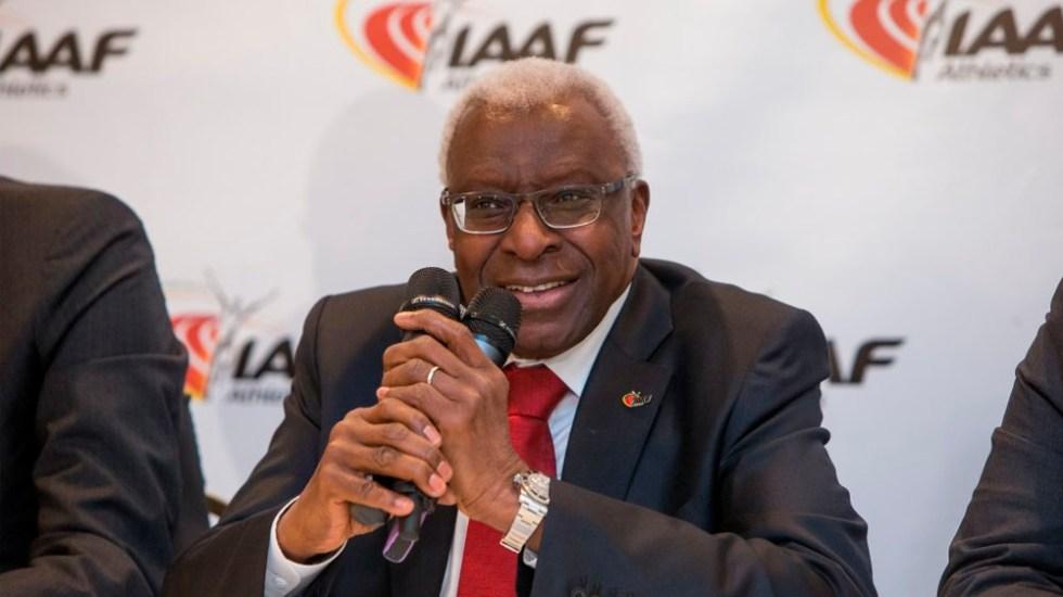 Investigan de nuevo a expresidente de IAAF por dinero de patrocinadores - Foto de internet