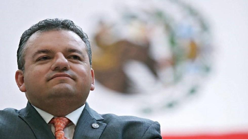 #Video Renuncia comisionado de Seguridad de Morelos - Foto de Alberto Capella