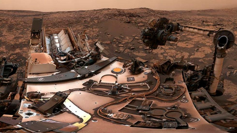 Robot de la NASA captura imagen de 360 grados de Marte - Foto de @NASA