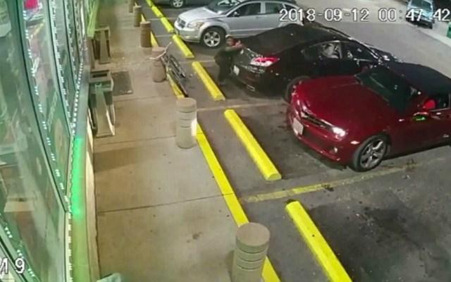 #Video Captan balacera en gasolinera de Illinois