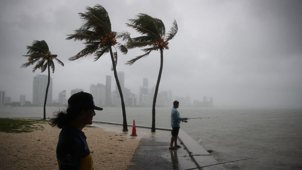 Tormenta tropical Gordon. Foto de JOE RAEDLE / AFP