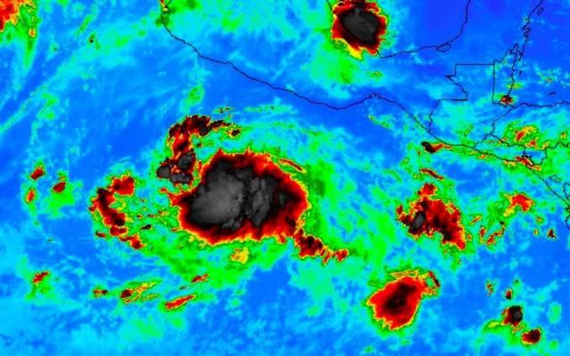 Tormenta tropical Sergio se ubica a 620 kilómetros de Acapulco - Foto de Twitter