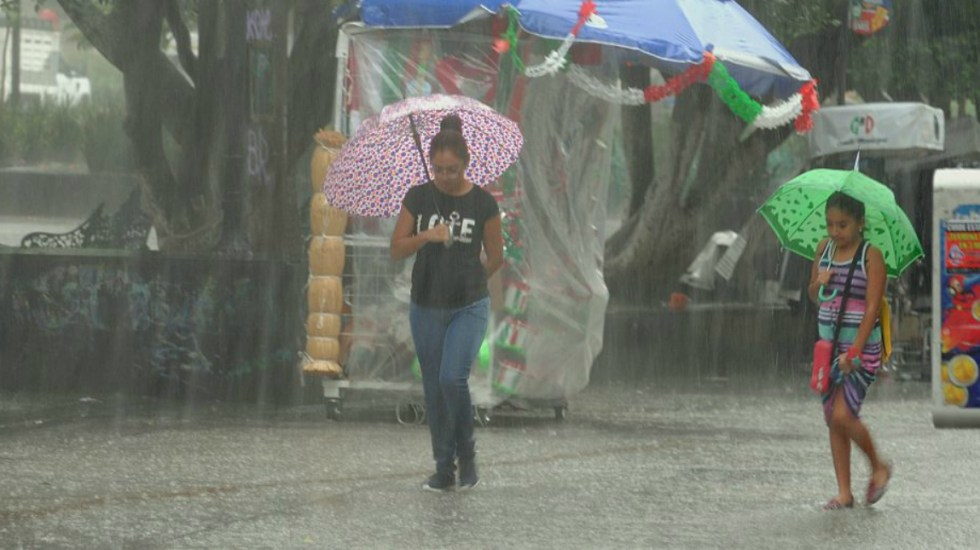 Tormentas fuertes a intensas afectarán gran parte del país - Foto de Internet