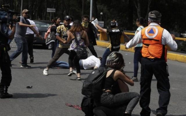 Detienen en Ecatepec a otro implicado por agresión en CU - Foto de @lajornadaonline