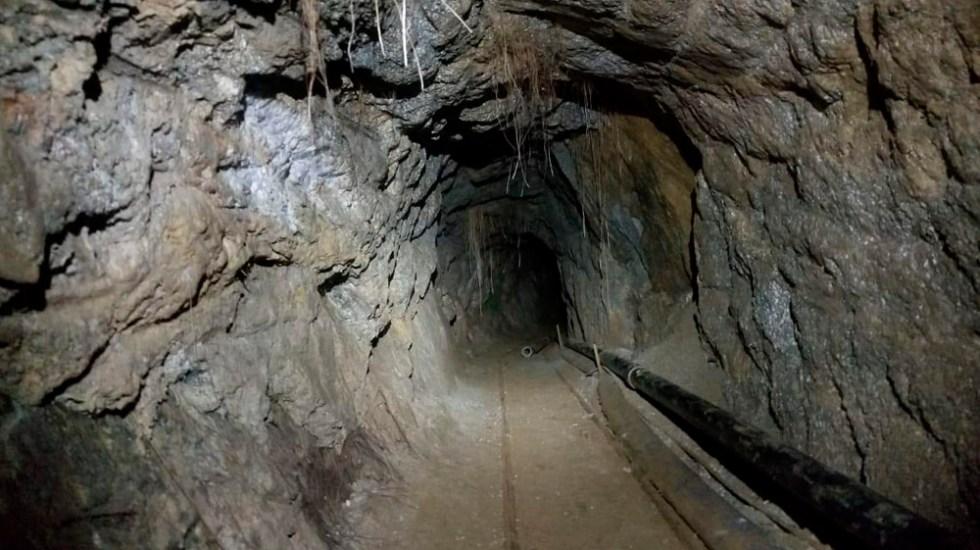 Localizan túnel en Baja California que podría cruzar a EE.UU. - Foto de PGR