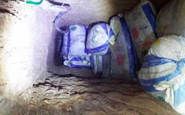 Descubren túnel para robo de combustible en Pachuca - Foto de Excélsior
