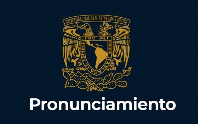 Rector de la UNAM suspende a coordinador de vigilancia - Foto de Twitter UNAM