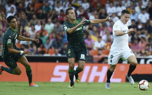 Valencia y Betis empataron a cero goles - Foto de AFP