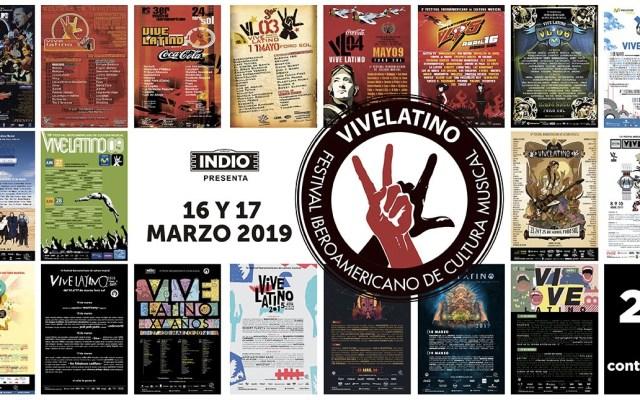 Anuncian fechas del Vive Latino 2019 - Foto de Twitter Vive Latino