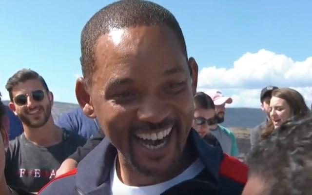 #Video Will Smith salta en bungee en el Gran Cañón en su cumpleaños 50