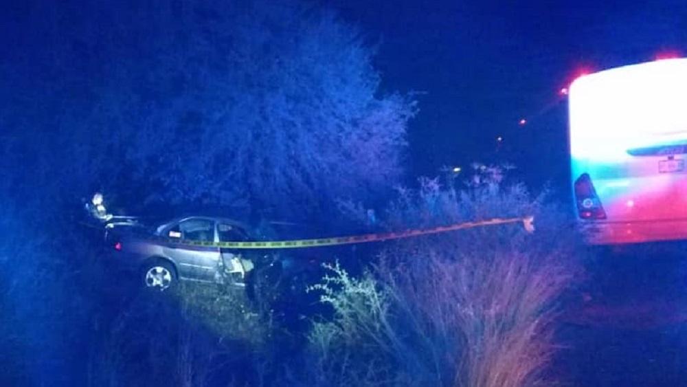 Accidente vial deja dos mujeres muertas en Aguascalientes - Accidente vial en Aguascalientes. Foto de Reportero Gráfico Aguascalientes