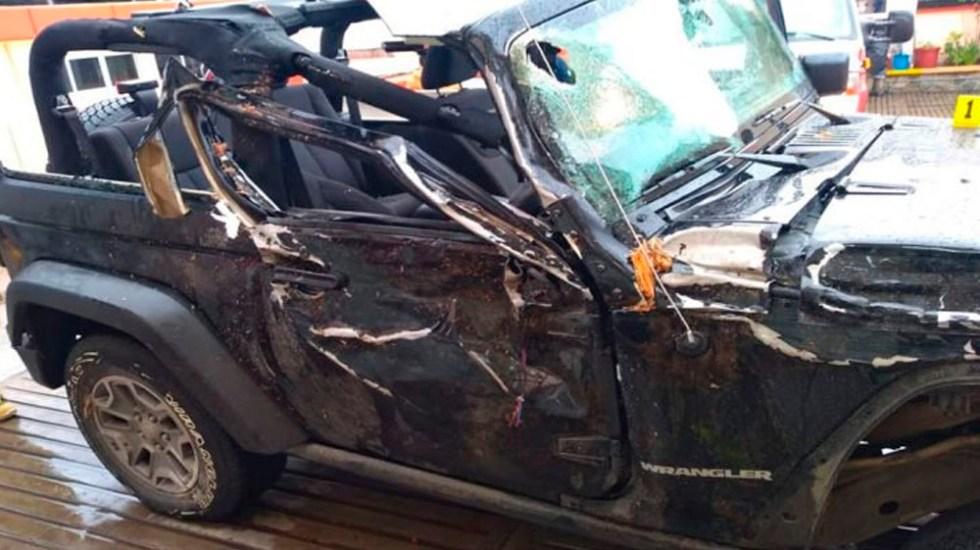 Priista abandona a mujer muerta en hospital tras choque en Oaxaca - Foto Especial