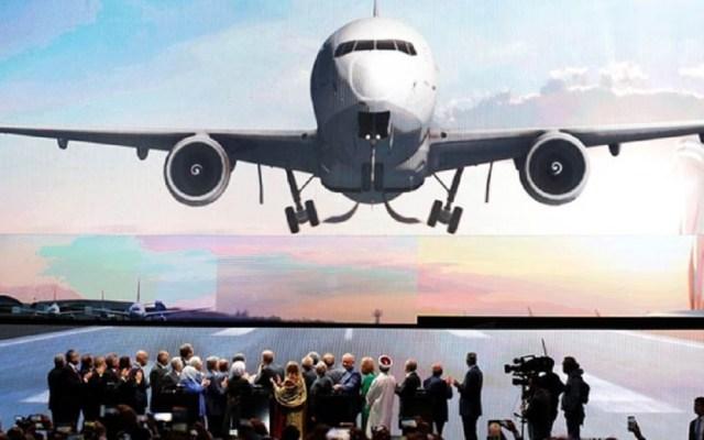 Inauguran el que sería el aeropuerto más grande del mundo en Turquía - Ceremonia de inauguración del Aeropuerto Estambul de Turquía. Foto de Reuters