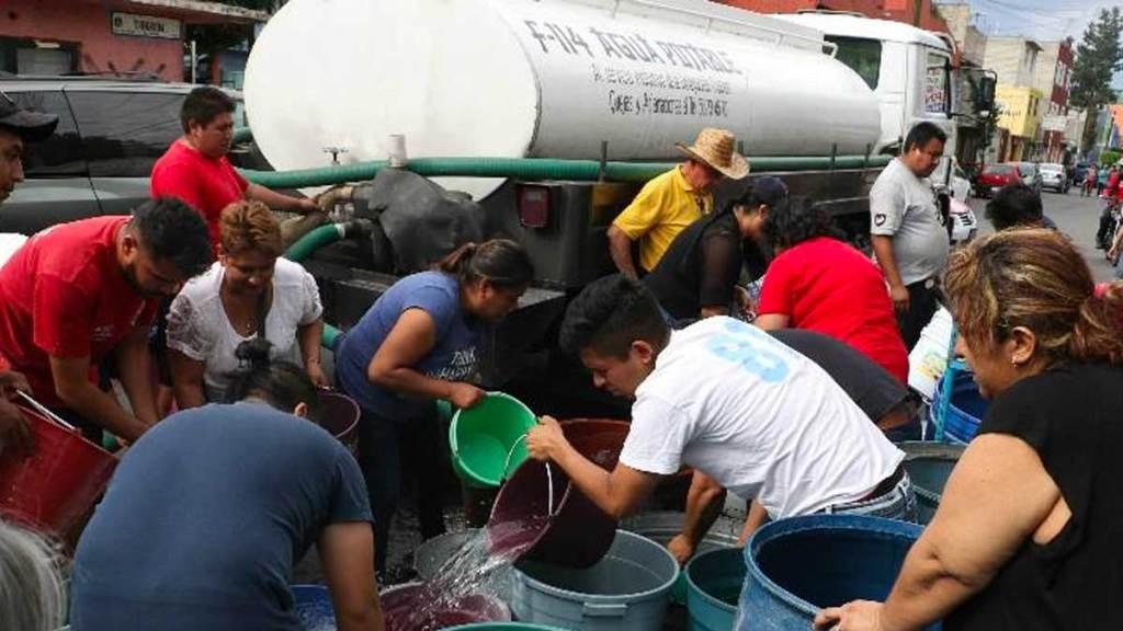 Estas son las 482 colonias afectadas por el corte de agua en la CDMX. Noticias en tiempo real