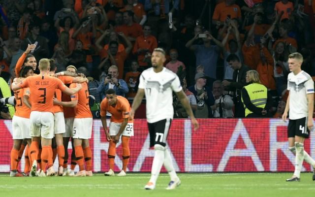 Alemania desciende a la segunda división de la Liga de las Naciones - Foto de AFP