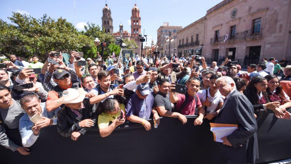 López Obrador se reúne con gobernador de Zacatecas - Portal Noticias Veracruz