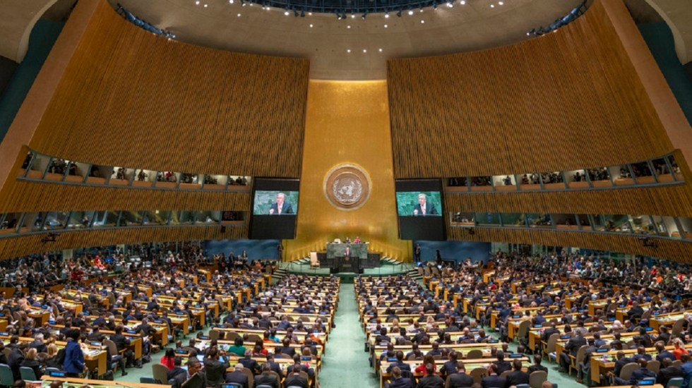 ONU prioriza Paz y Seguridad en su agenda 2020 - Asablea General de las Naciones Unidas. Foto de ONU